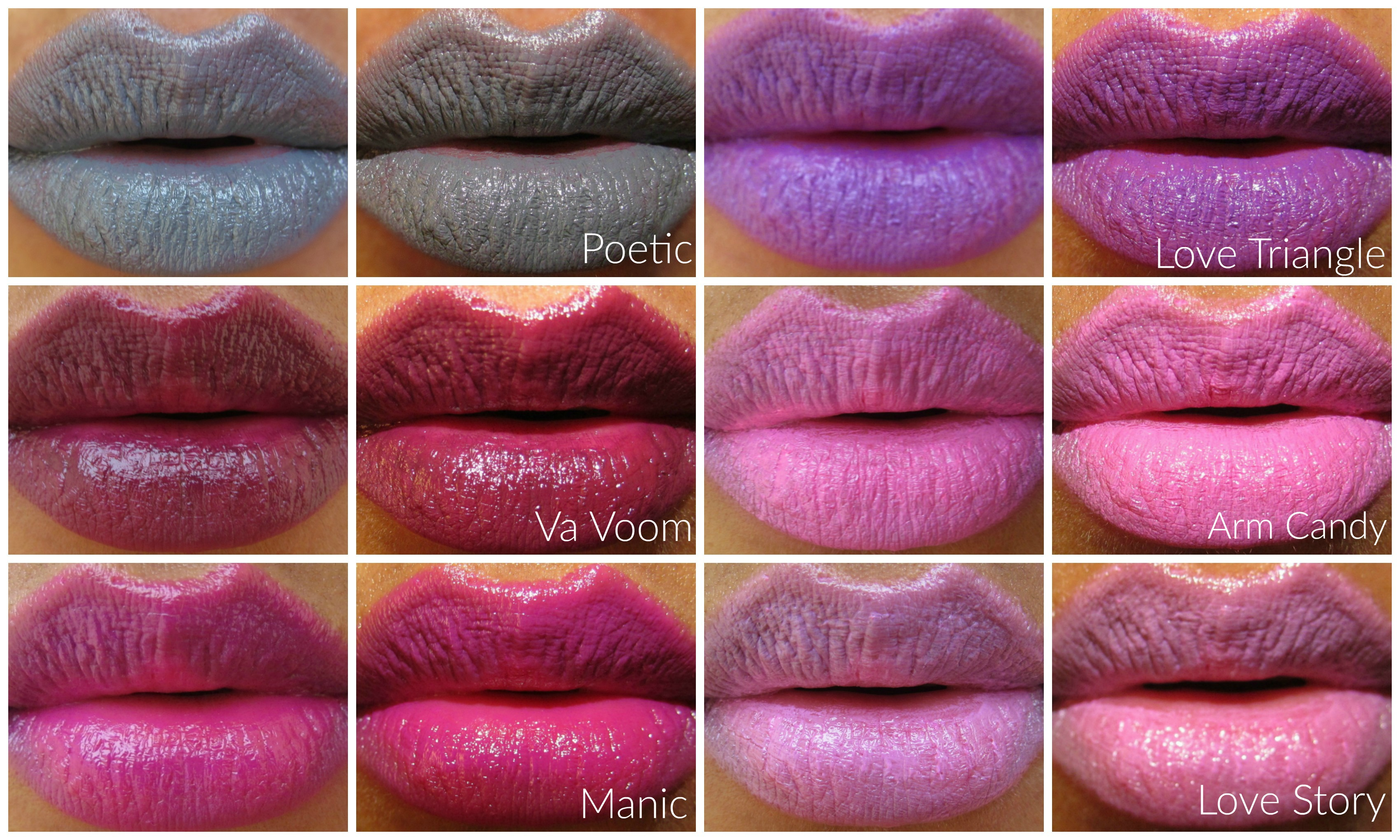 L.A. Girl Cosmetics – Matte Flat Velvet Lipstick Swatches & Review
