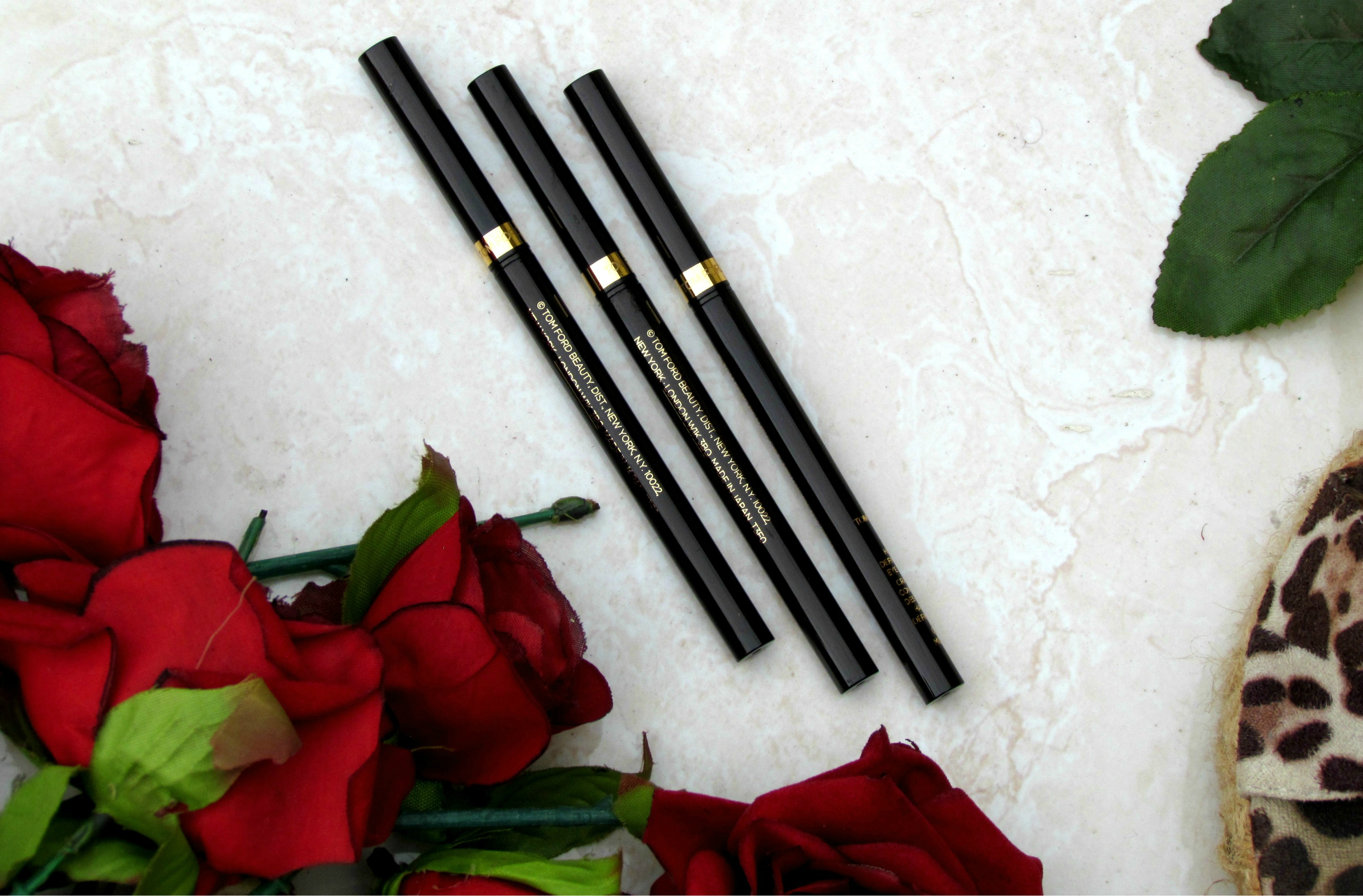 TOM FORD HIGH DEFINITION EYE LINER – AZURE, MOSS, BLACK   Review & Swatches