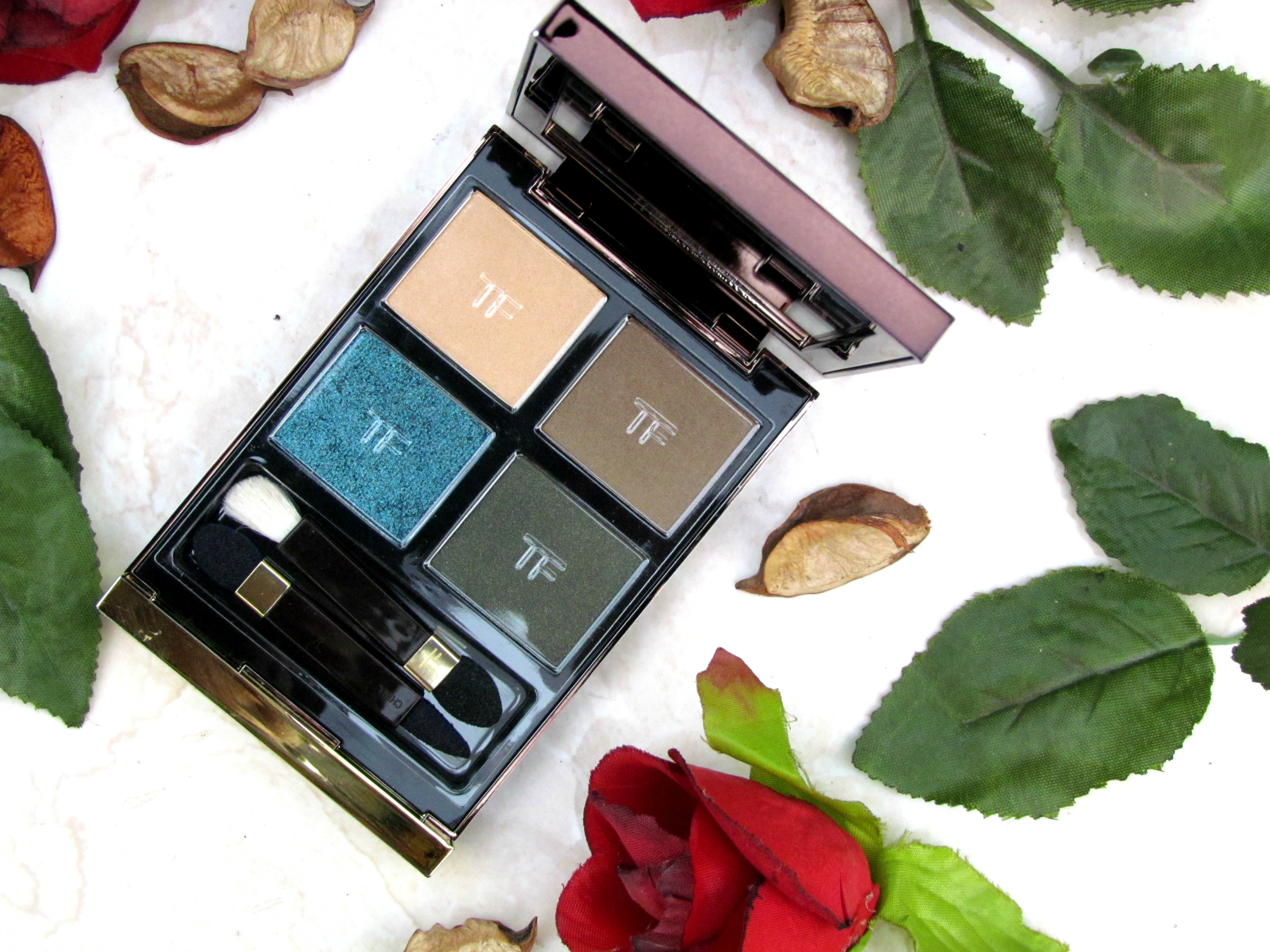 Tom Ford Last Dance Eyeshadow Quad Review, Photos, Swatches