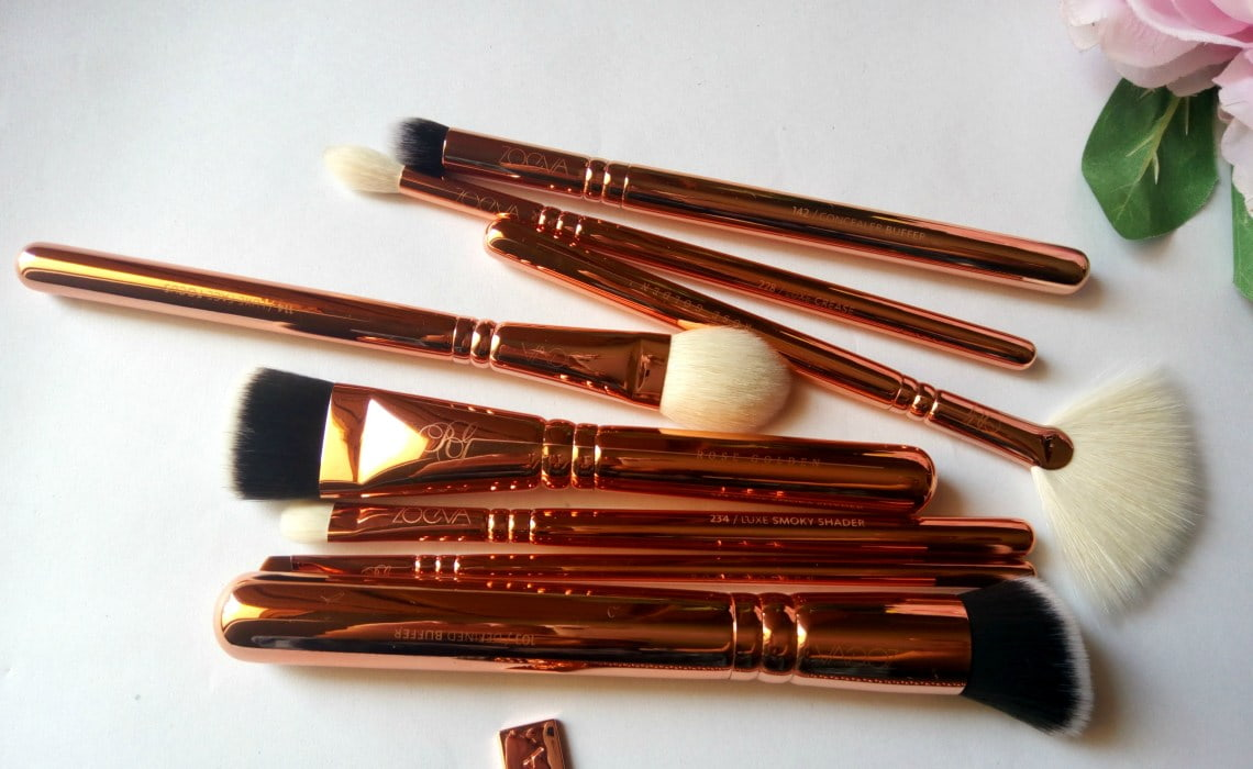 ZOEVA ROSE GOLDEN VOL. 3 LUXURY BRUSH SET | REVIEW