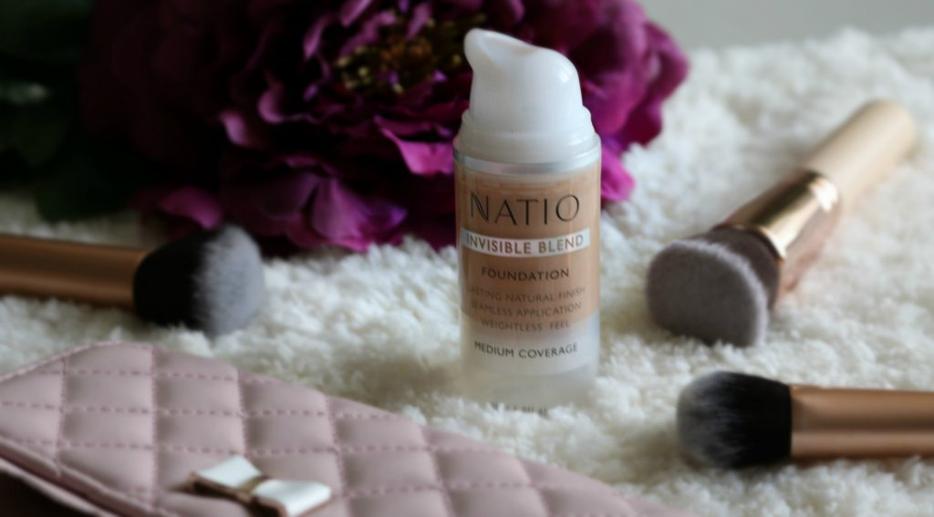 Natio Invisible Blend Foundation medium tan review