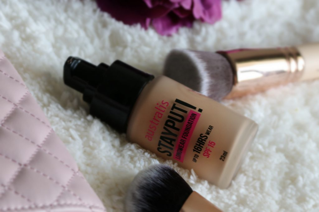 australis stayput foundation golden tan