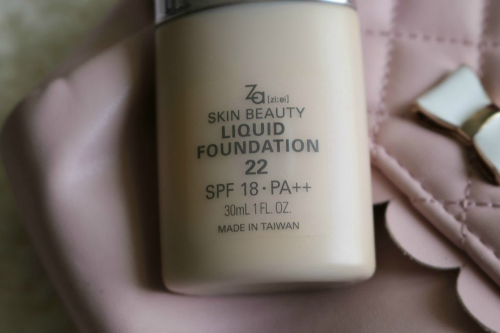 za beauty liquid foundation