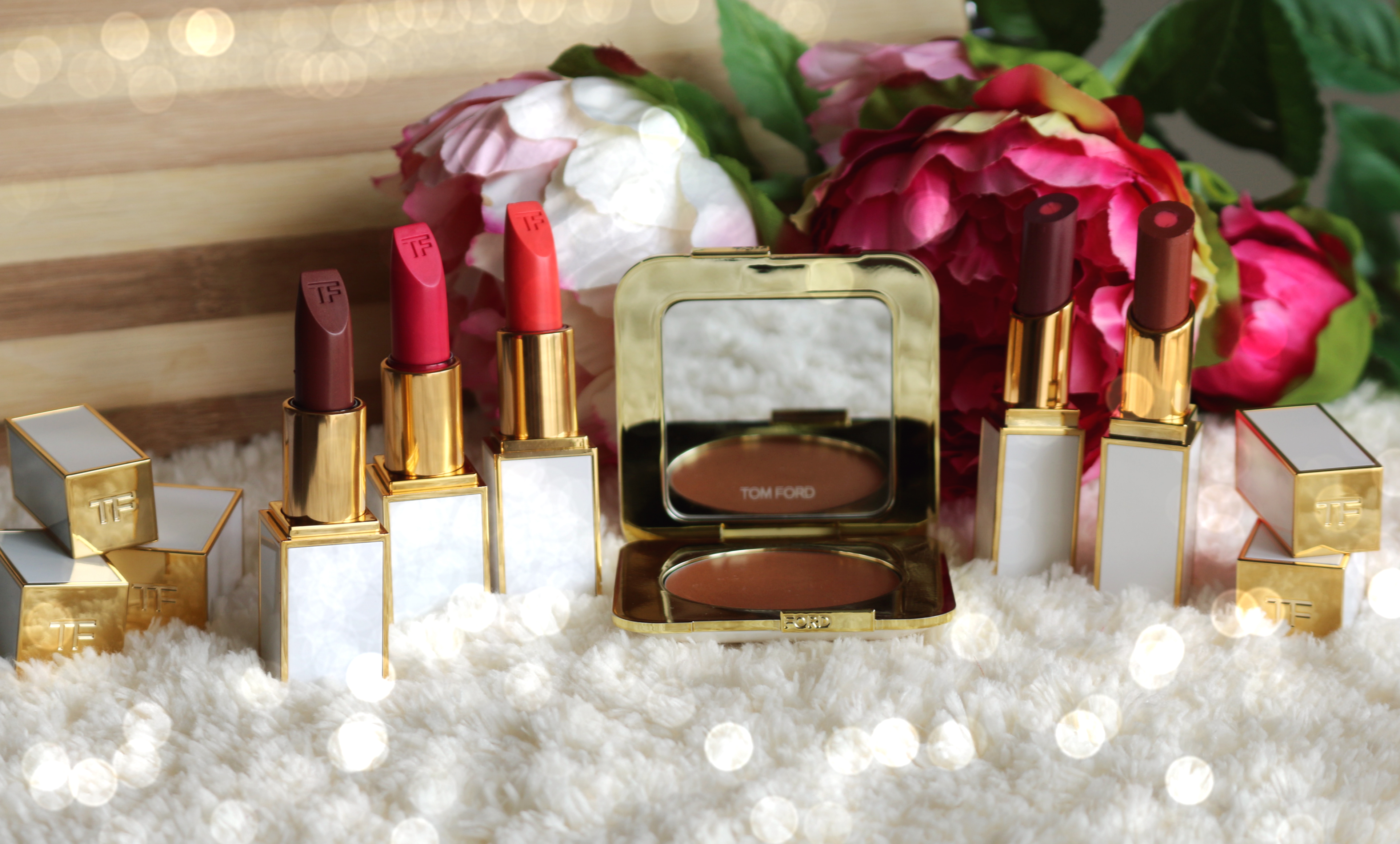 TOM FORD SOLEIL COLLECTION – CREAM CHEEK COLOR, MOISTURECORE & ULTRA RICH LIP COLORS