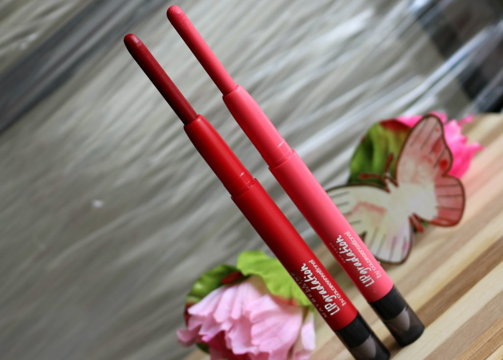 Maybelline ColorSensational Lip Gradation Red2,Coral1 review