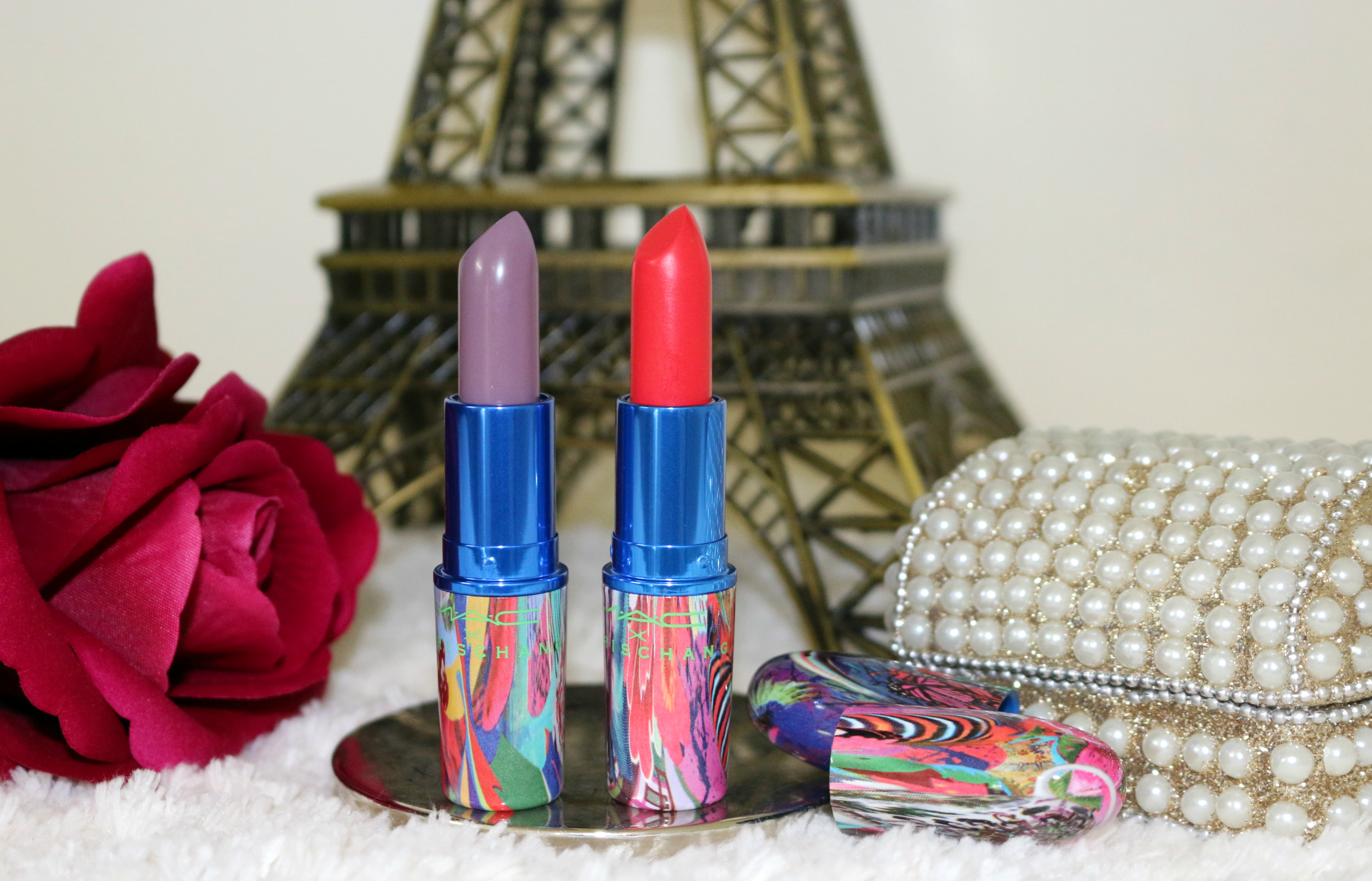 mac chris chang lipstick review