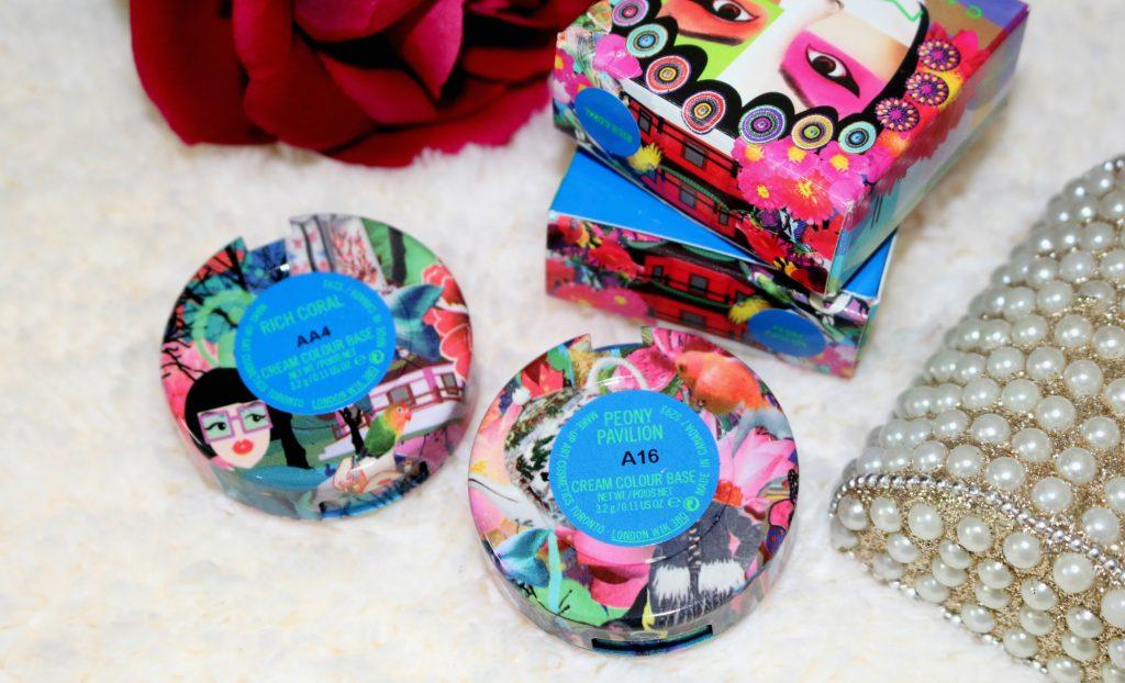 MAC x Chris Chang Cream Colour Bases - Rich Coral, Peony Pavillion