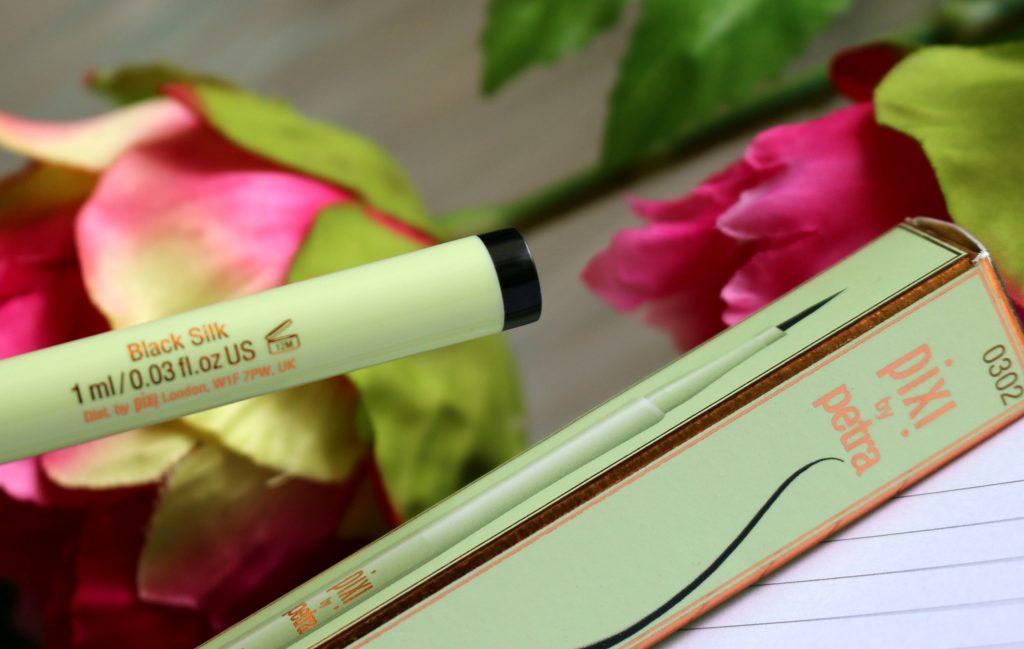 pixi lash line ink black silk
