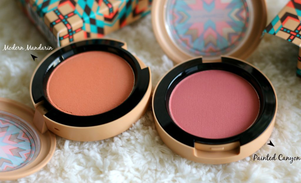mac vibe tribe collection blushes