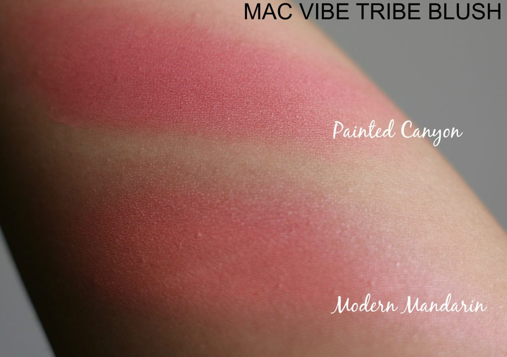 mac vibe tribe swatches