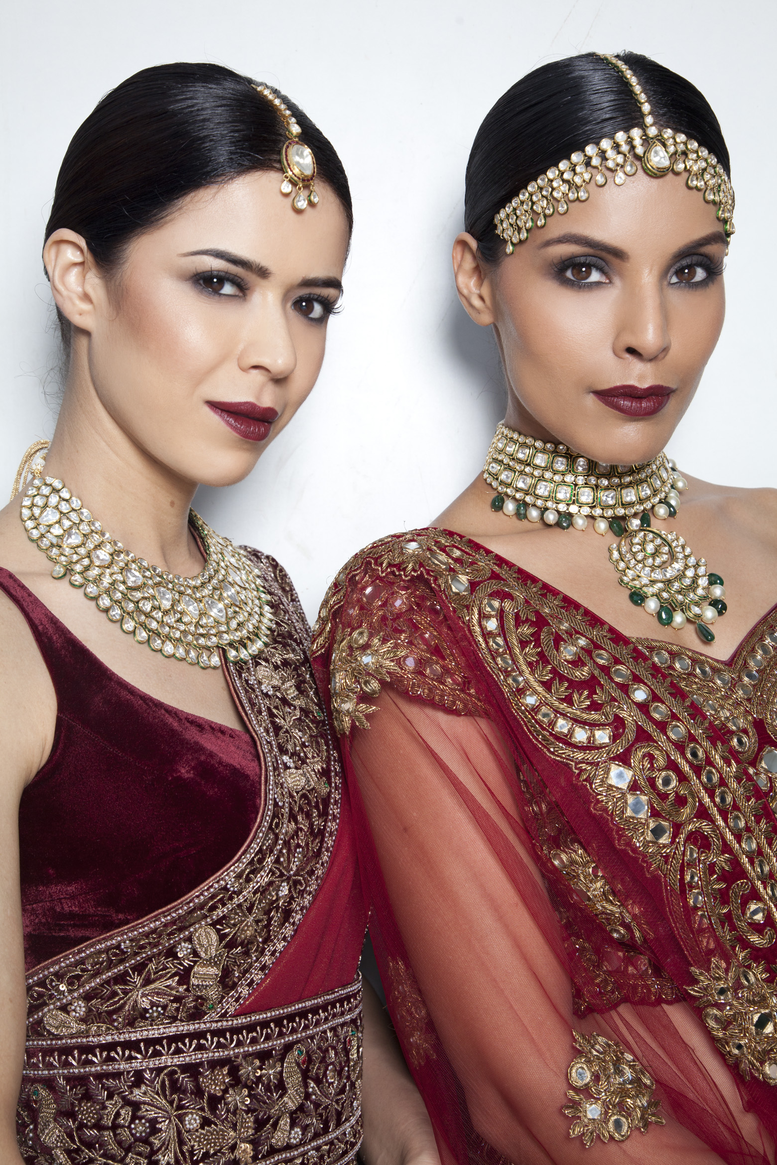 Here are the looks created for Manav Gangwani by Mickey Contractor, Director of Makeup Artistry, M.A.C India for India Couture Week 2016