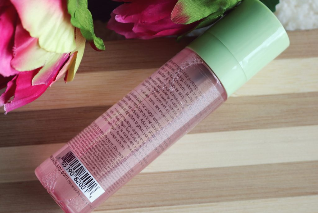 pixi by petra makeup mist