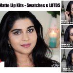 Kylie Matte Lip Kits – Posie K, Mary Jo K, Kourt K | Review, Swatches & LOTDs