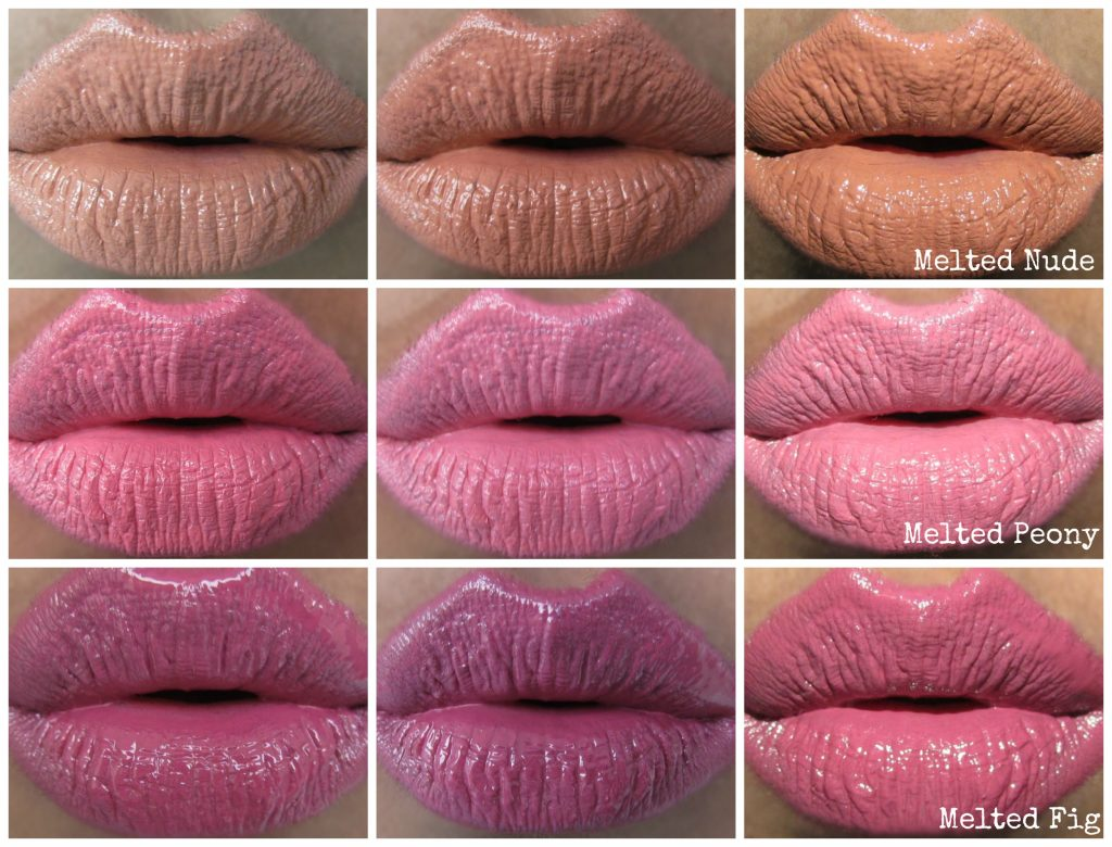 too faced melted kisses lipstick swatches