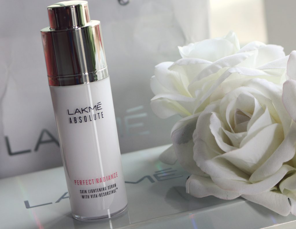 lakmé absolute perfect radiance whitening serum review
