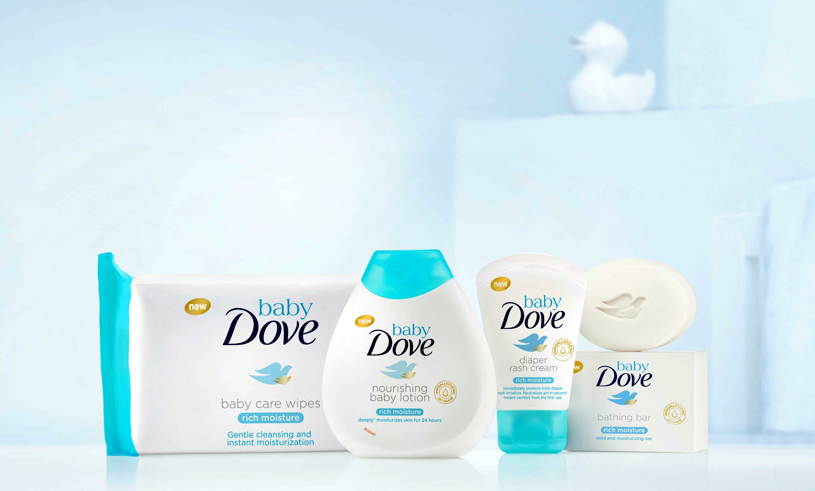 Introducing Baby Dove – Baby Skincare Products
