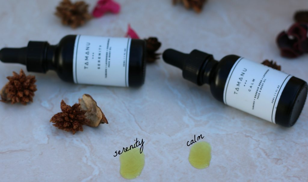 tamanu oil blends