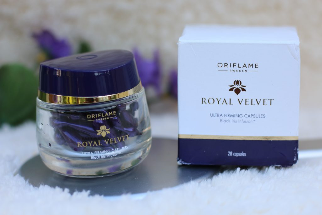 buy oriflame royal velvet ultra firming capsules