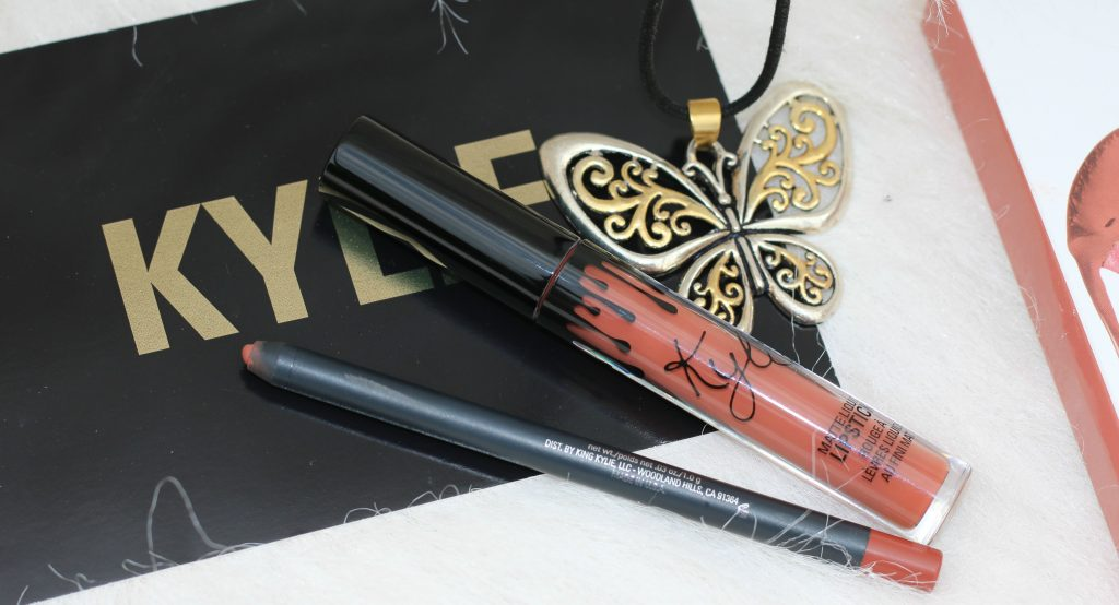 kylie matte lip kit ginger review