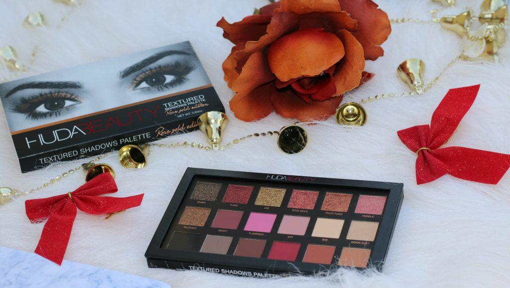 huda beauty rose gold palette price