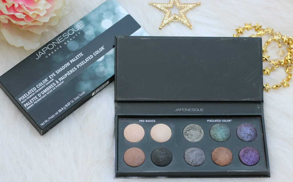 japonesque color pixelated eyeshadow palette review
