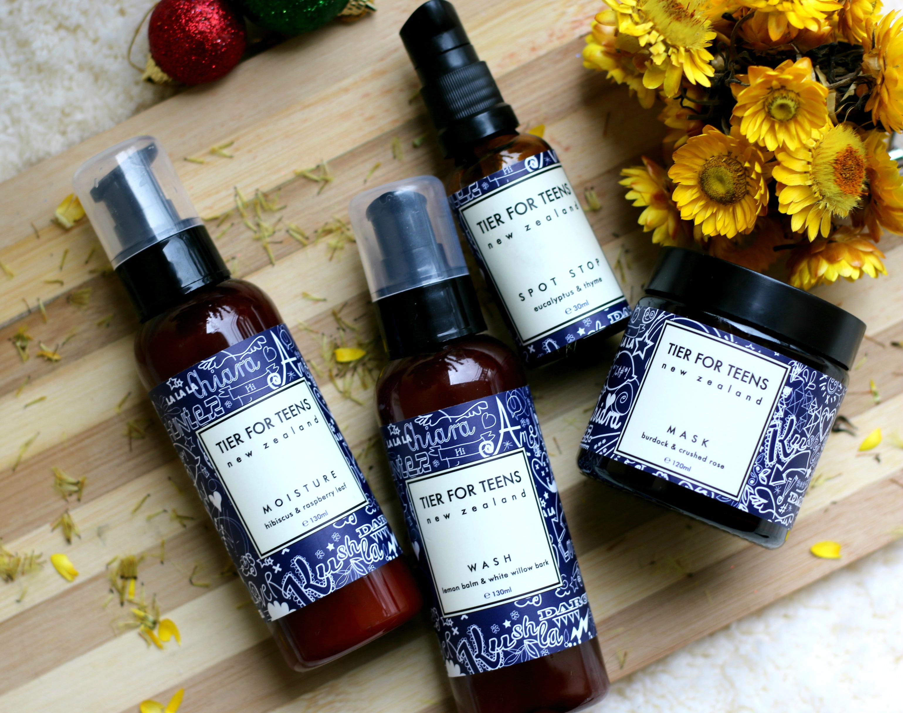 Count Down to Christmas – Tier For Teens Skincare Range