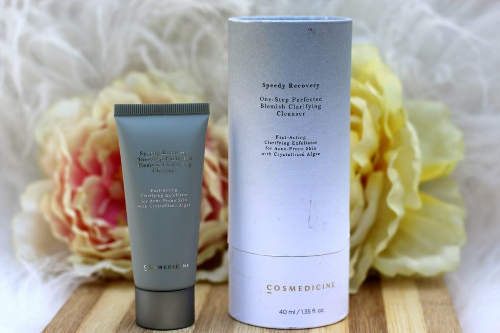 Speedy Recovery® One-step Perfected Blemish Clarifying Cleanser review