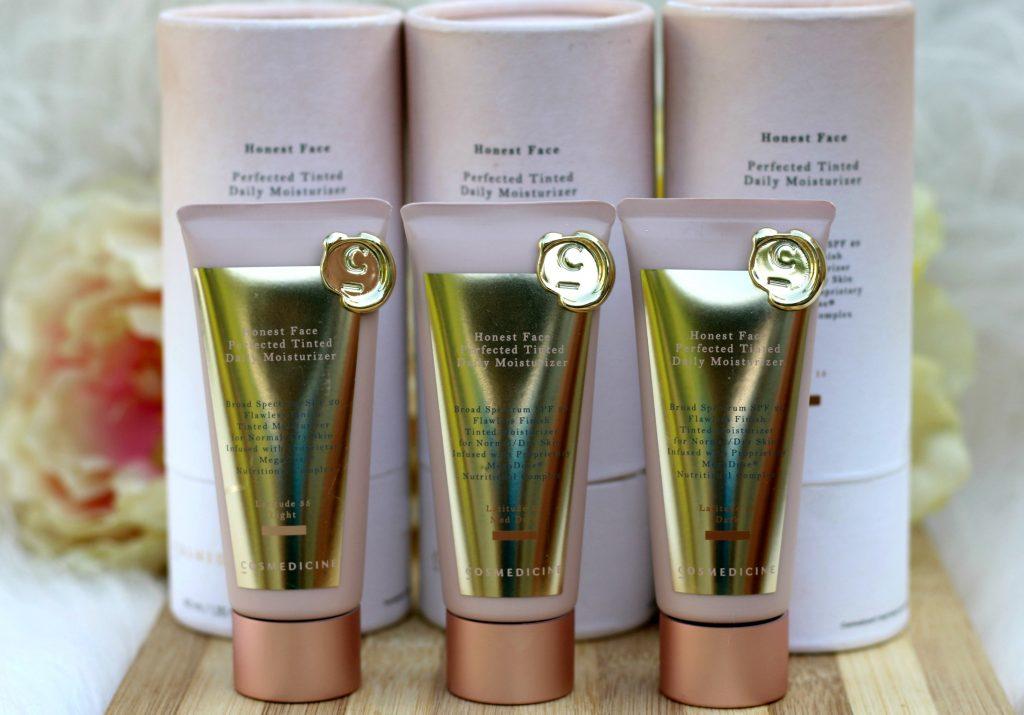 Honest Face® Perfected Tinted Moisturizer : Shades - Light, Dark, Med Dark review