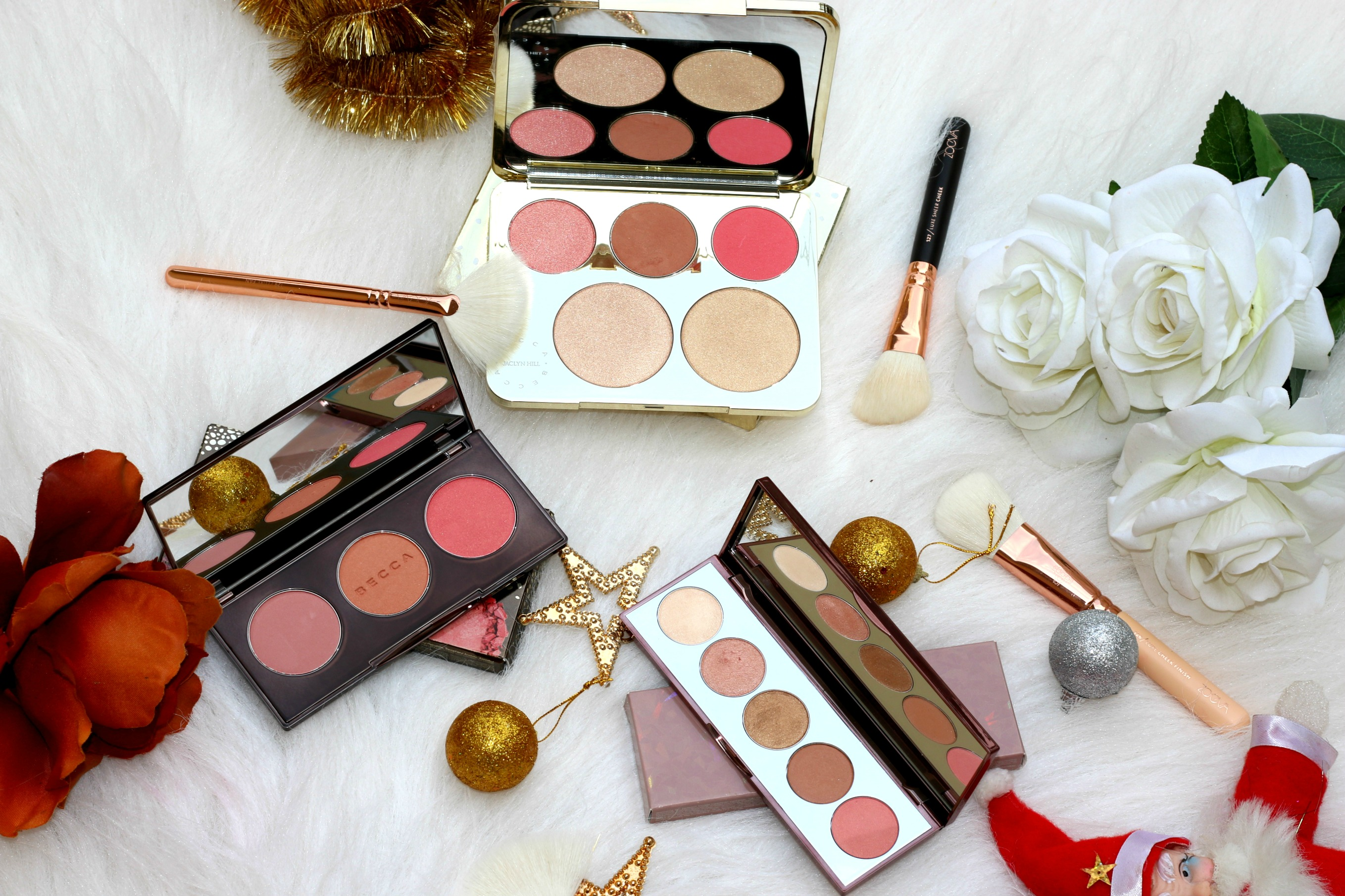 Becca Cosmetics Edit – Featuring Blushed With Light Palette, After Glow Palette & Jaclyn Hill Champagne Collection Face Palette