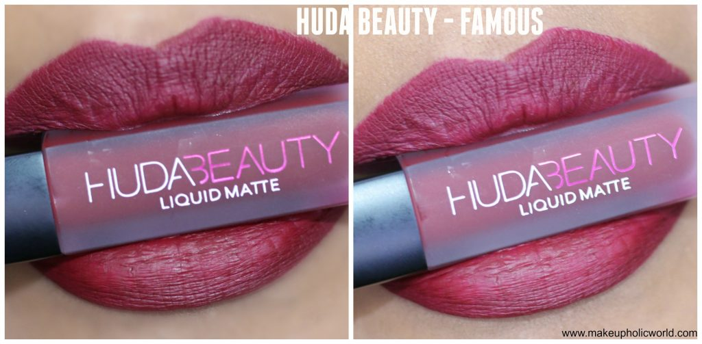 huda beauty liquid matte famous review