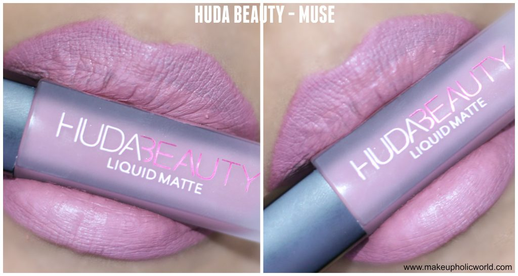 huda beauty liquid matte muse review