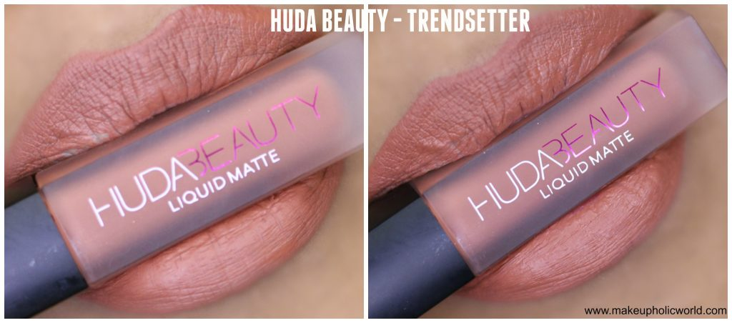 huda beauty liquid matte trendsetter review