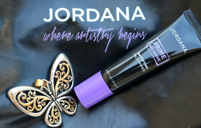 jordana cosmetics prime no-shine mattifying face primer review