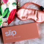YOU MIGHT NOT BE A MOVIE STAR BUT YOU CAN STILL sleep LIKE ONE ! #Slipsilk pure silk peach sleep mask