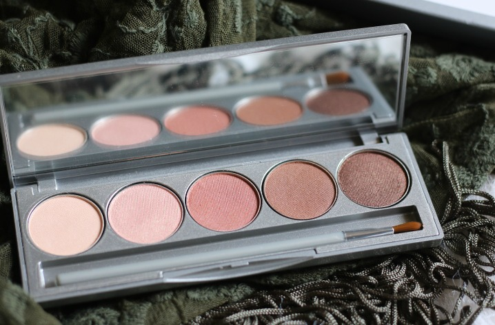 colorescience eye shadow palette review