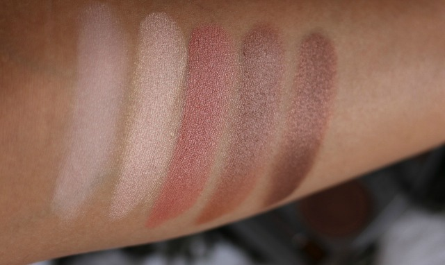 colorescience beauty on the go mineral palette review and swatches