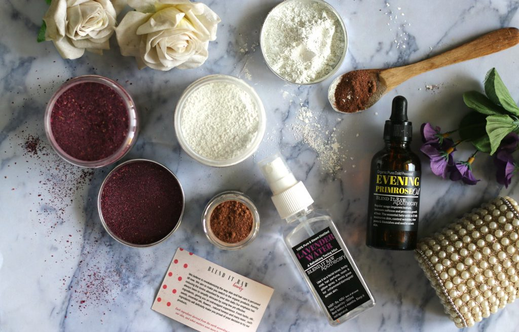blend it raw beauty box review, diy beauty subscription box, natural skincare subscription box.