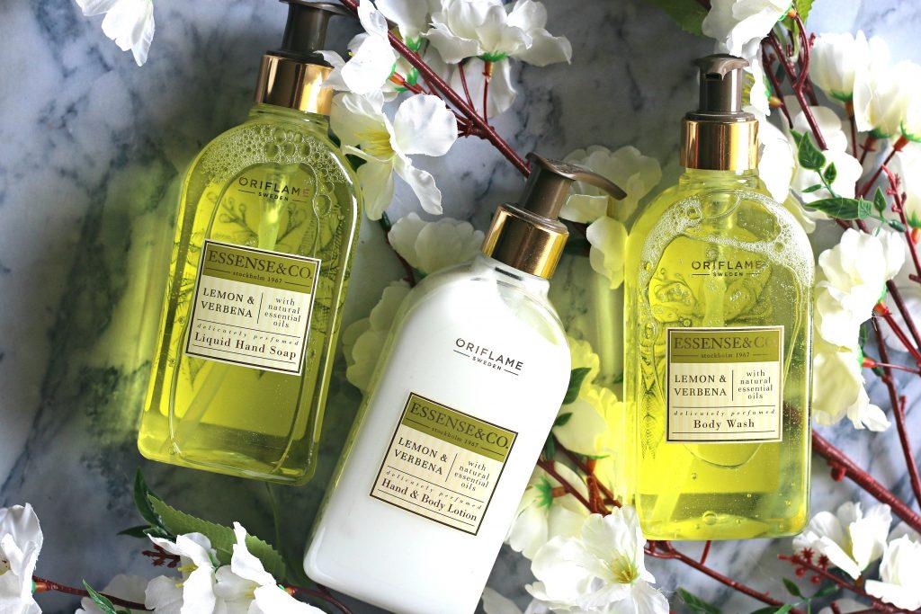 Oriflame Essence & Co. Lemon And Verbena Range Review