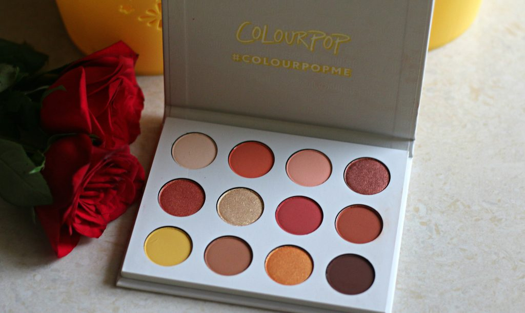 ColourPop yes, please! pressed powder shadow palette Yes please