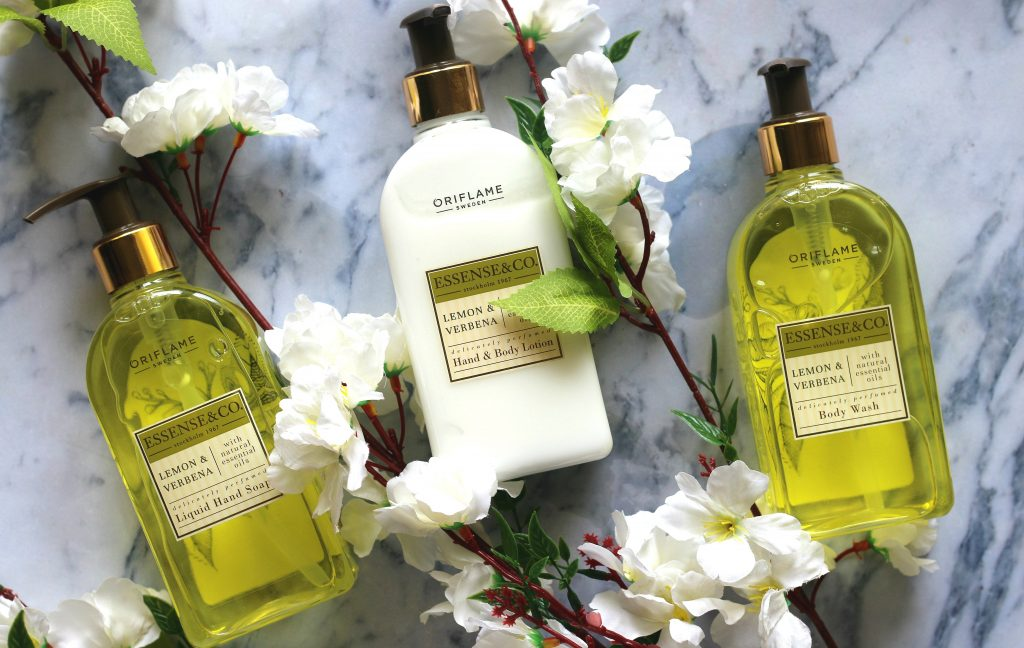 Oriflame Essence & Co. Lemon And Verbena Range