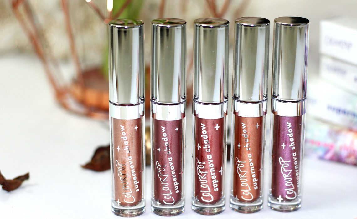 'Count down to Christmas' – Colourpop Supernova Shadows | All Shades Review & Swatches