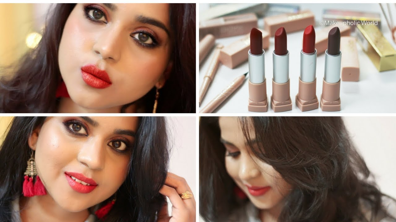 I tried the Maybelline x Gigi Hadid Collection ; Check more to see swatches and my video review