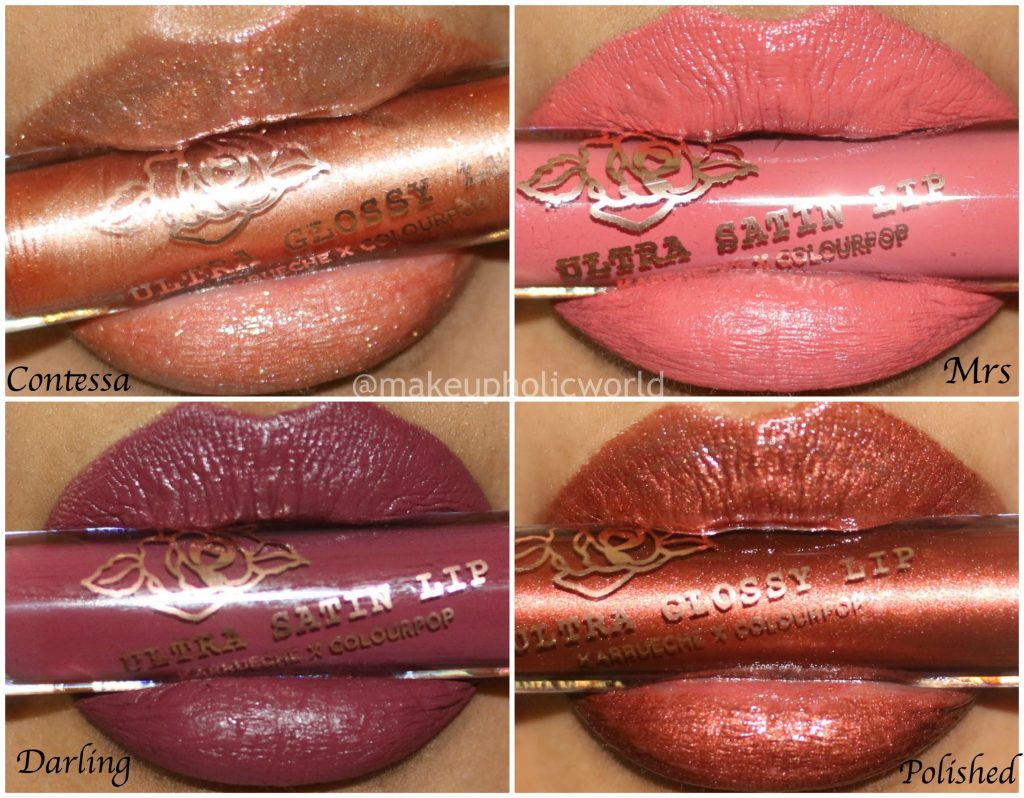 colourpop x karrueche lip collection, colourpop ultra stain lipstick, colourpop ultra glossy lipstick, colourpop fem rosa mixed finish lip collection, colourpop x karrueche lip bundle, colourpop ultra glossy lip contessa, colourpop ultra satin lip mrs, colourpop ultra satin lip darling, colourpop ultra glossy lip polished, colourpop ultra glossy lip contessa review, colourpop ultra satin lip mrs review, colourpop ultra satin lip darling review, colourpop ultra glossy lip polished review, colourpop ultra glossy lip contessa swatches, colourpop ultra satin lip mrs swatches, colourpop ultra satin lip darling swatches, colourpop ultra glossy lip polished swatches, karrueche colourpop collaboration, colourpop femrosa lip colors review, colourpop lipsticks ,