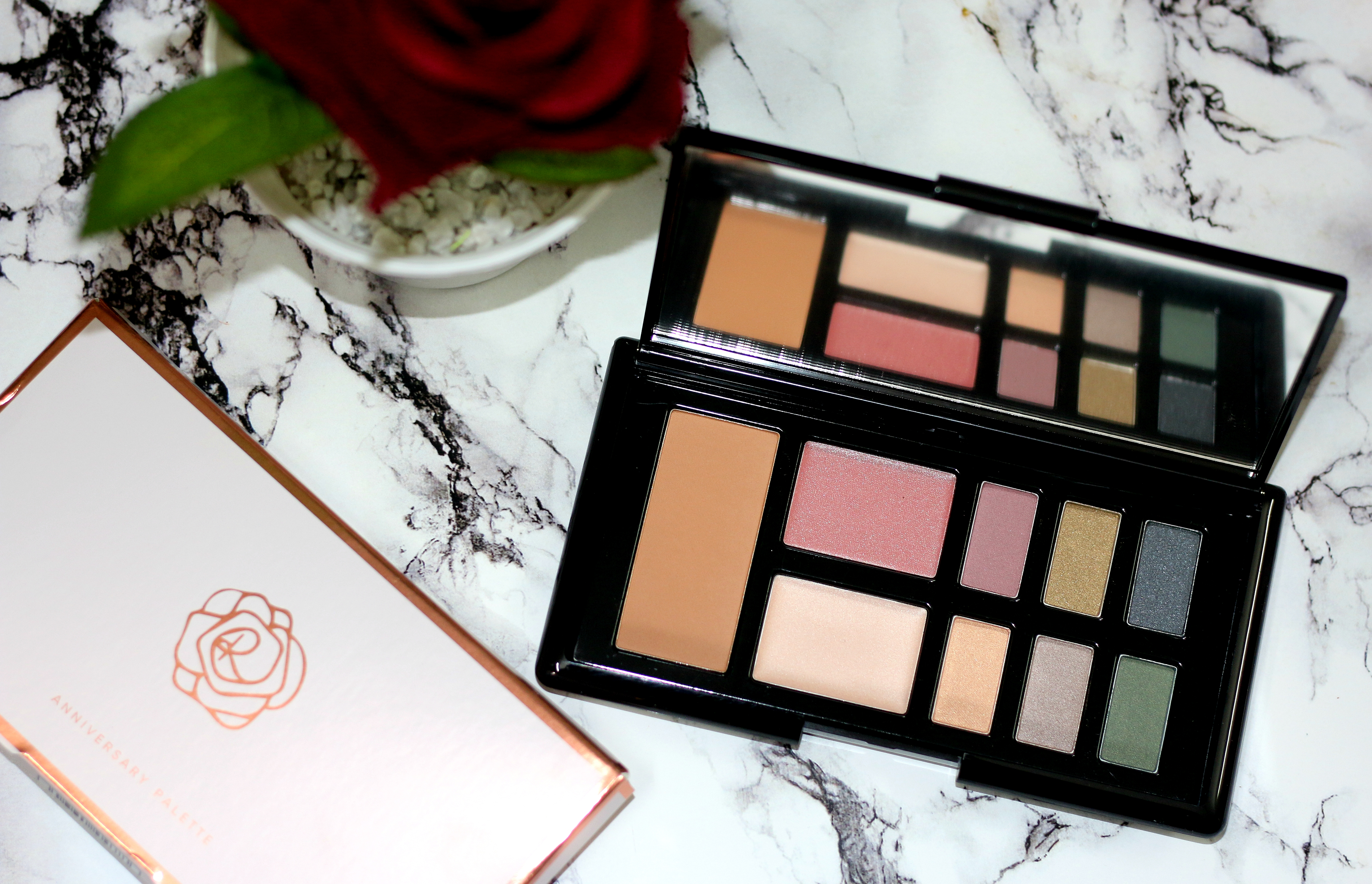 MARKS & SPENCERS ROSIE FOR AUTOGRAPH MAKEUP PALETTE | Review & Swatches