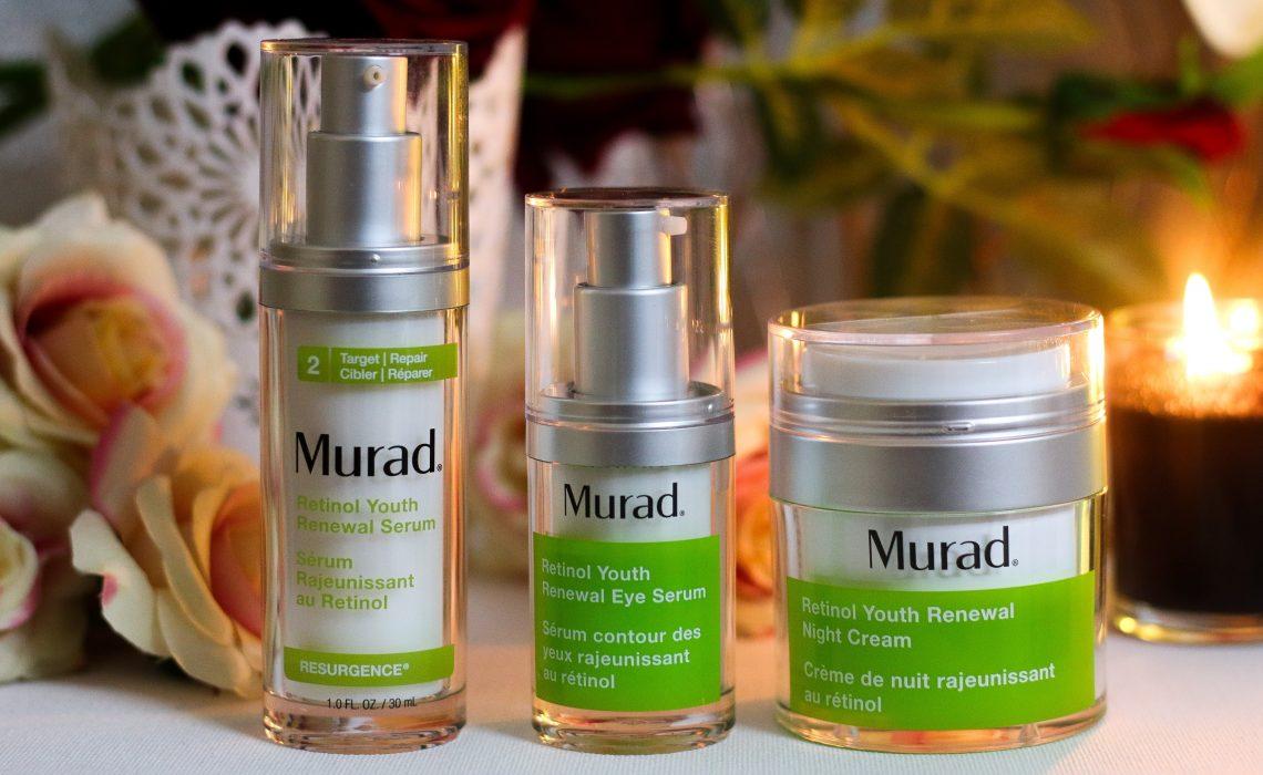 Transform Your Skin Using Murad Retinol Youth Renewal Range