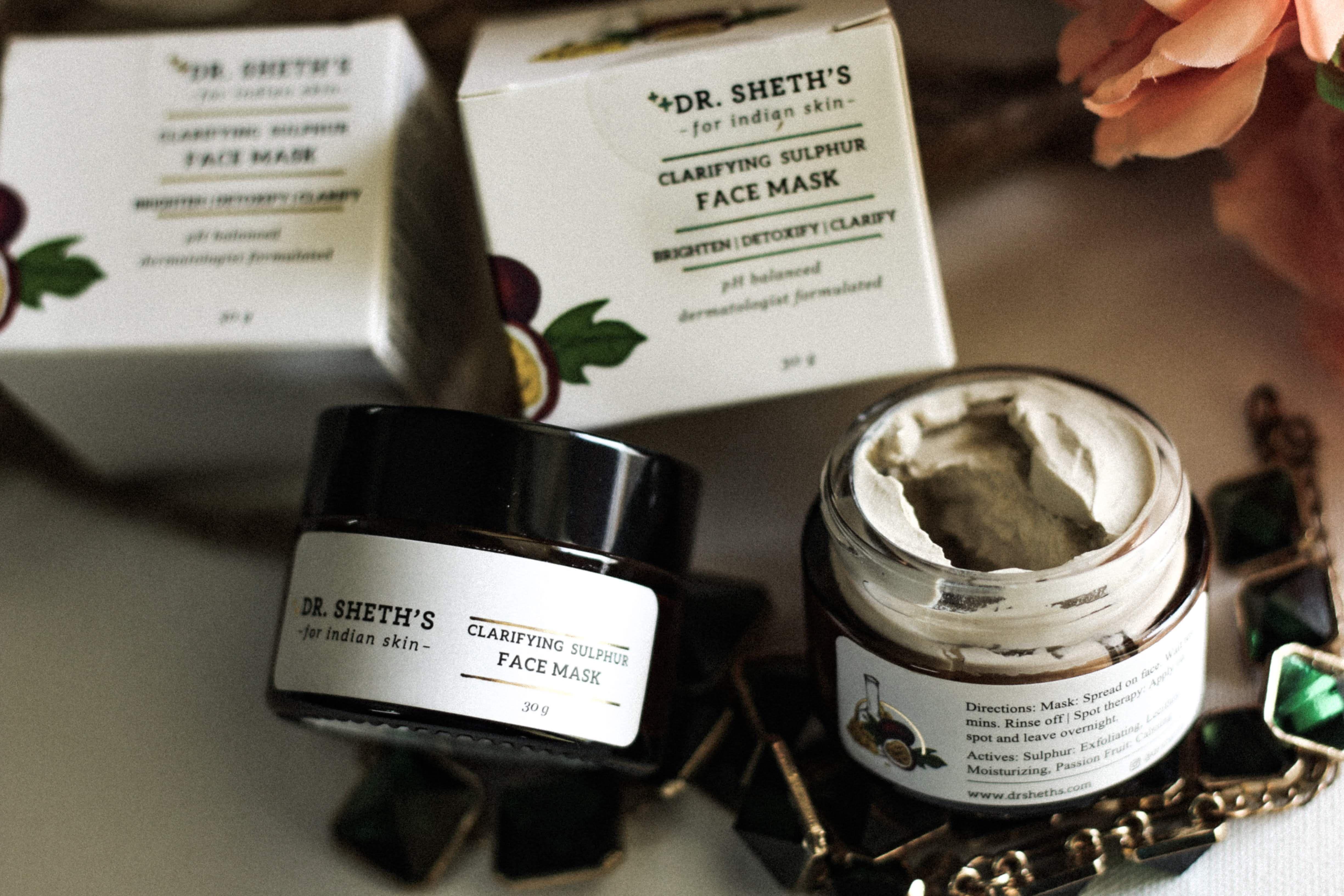 Dr. Sheth's Clarifying Sulphur Face Mask | Review