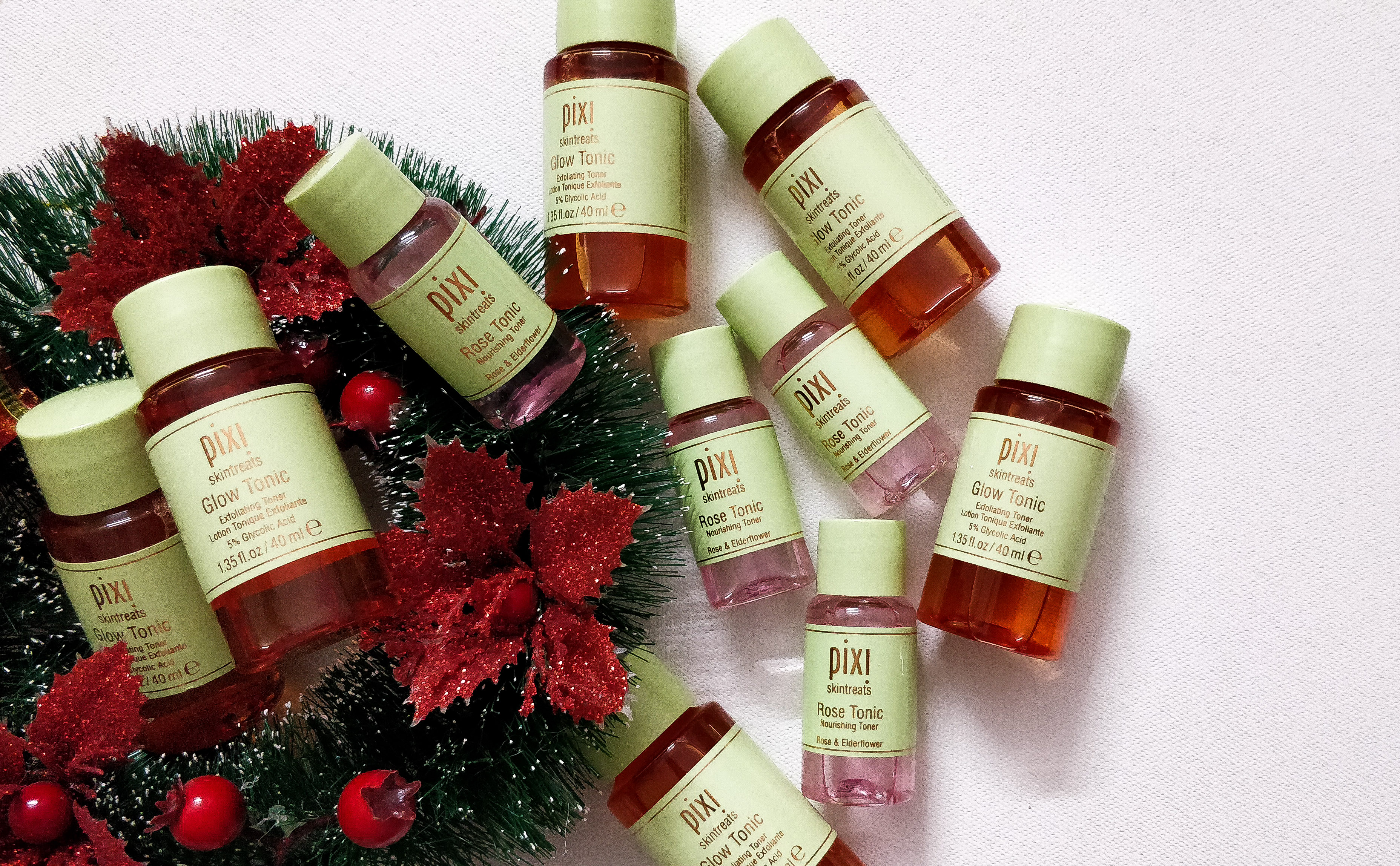 #ChristmasGifts #Holiday2018 Delight your skin with Pixi Beauty #MultiToning Essentials