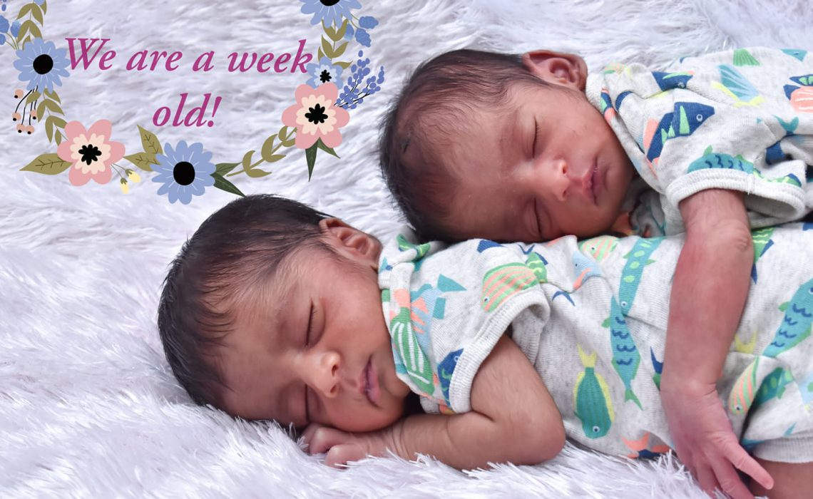 A letter to my darling twins on their 1st Birthday!